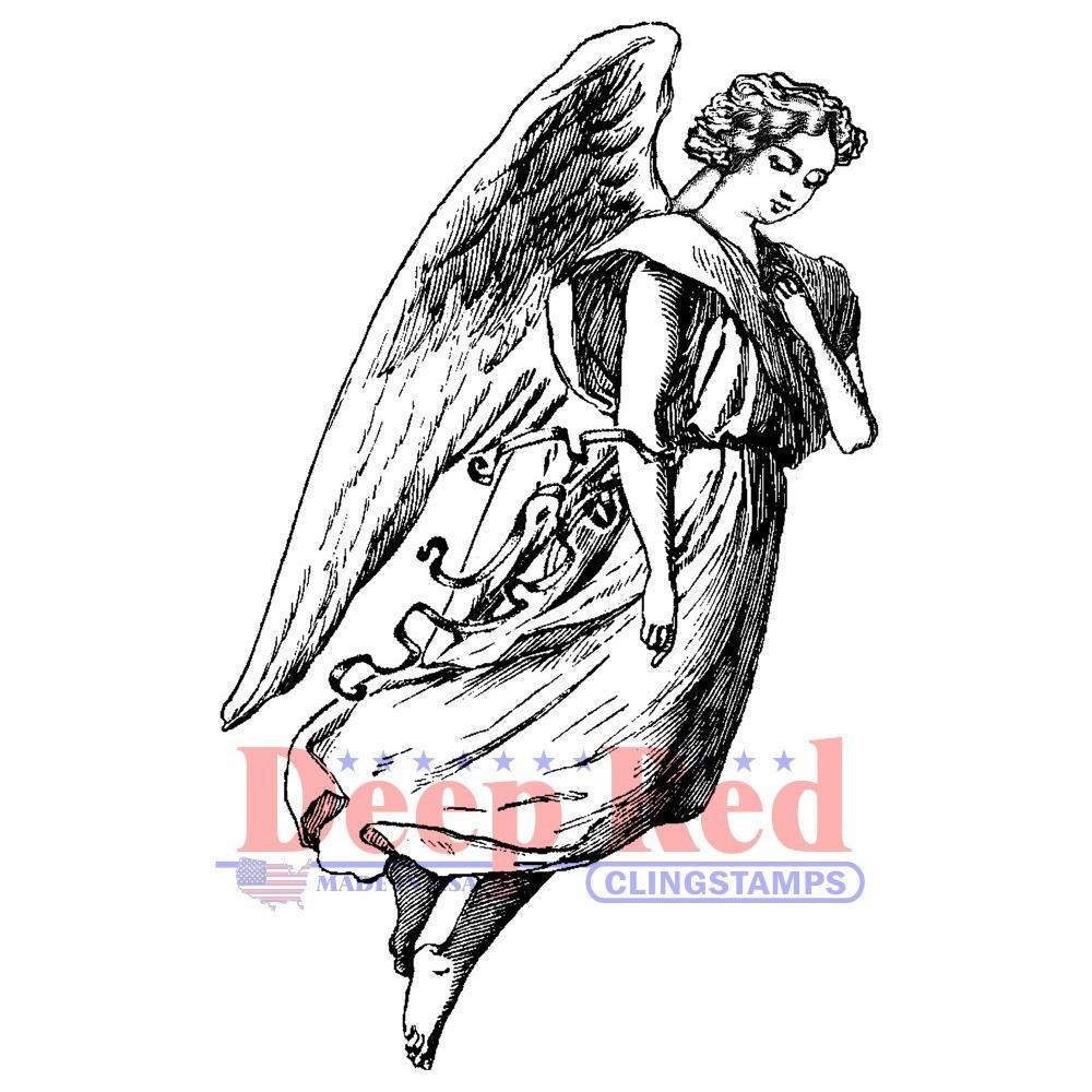 Cling Stamps: Archangel