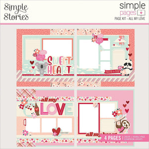Simple Pages Page Kit: All My Love
