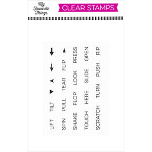 Interactive Labels 2x3 Clear Stamp Set