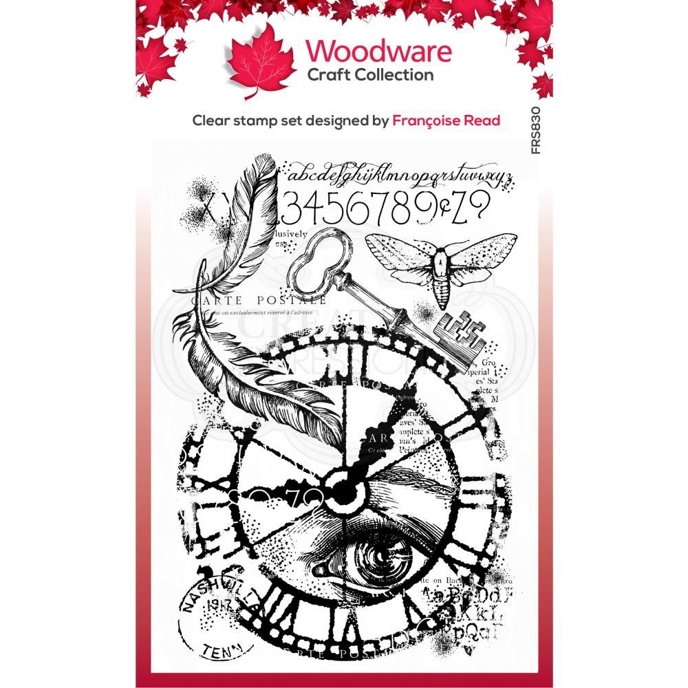 Through Time 4x6 Clear Stamp Set