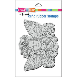 Fairy Wings Cling Stamp Set