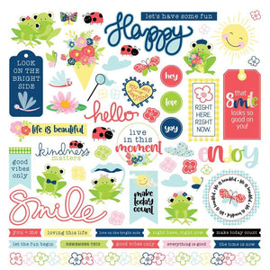 Fern & Willard 12x12 Sticker Sheet