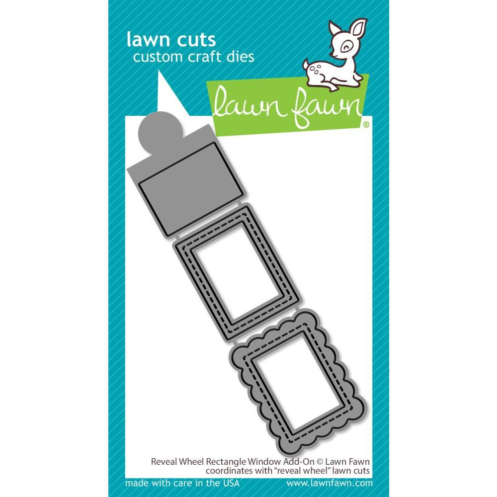 Reveal Wheel: Rectangle Window Add-On Lawn Cuts Dies