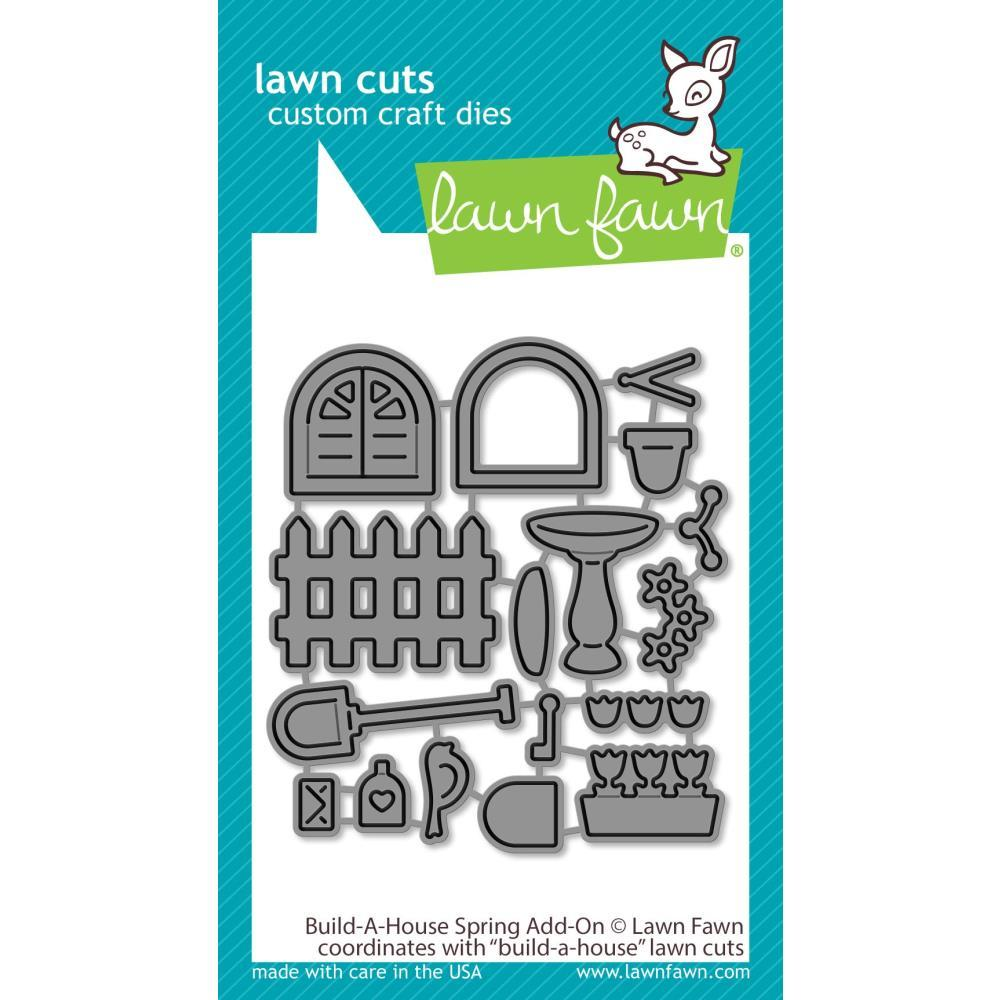 Build-A-House Spring Add-On Lawn Cuts Dies