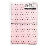 C'est La Vie Traveler's Notebook Set: Black & Pink Dot