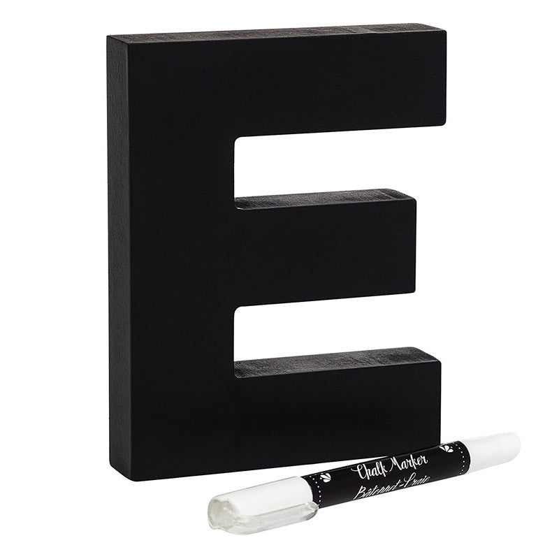 Chalkboard Letter and Marker (E)