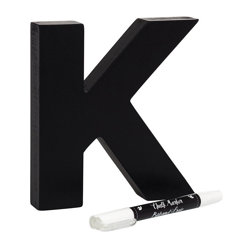 Chalkboard Letter and Marker (K)