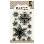 4x6 Essential Stamps Set: Snowflakes