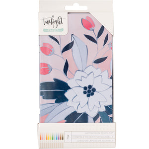 Twilight Watercolor Pencils Tin