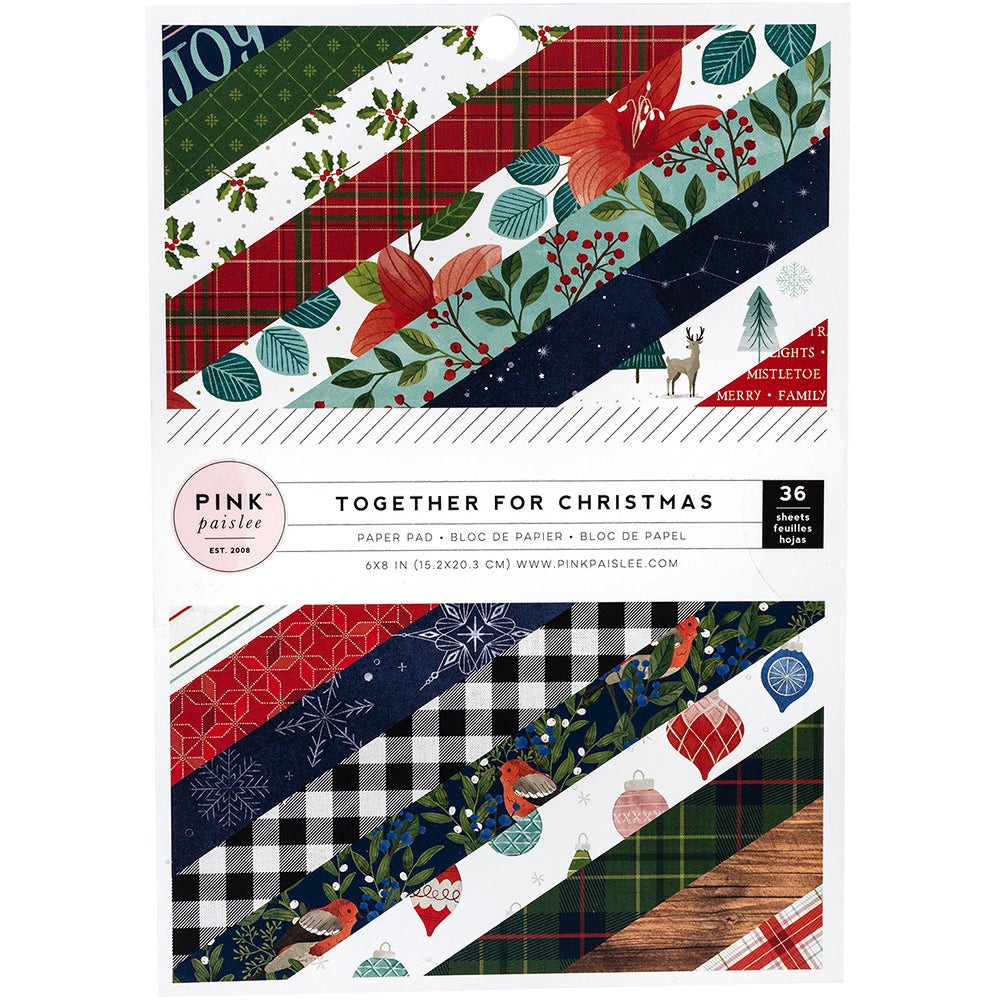 6x8 Paper Pad: Together for Christmas