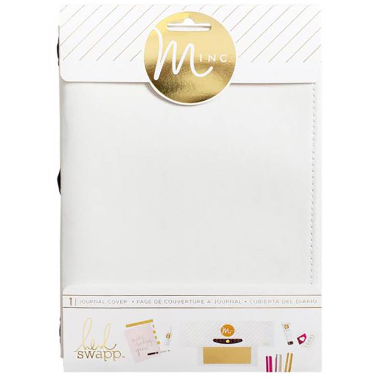 Minc Canvas White Journal Cover