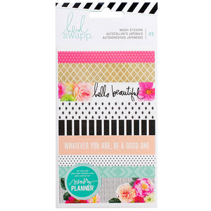 Memory Planner Washi Book