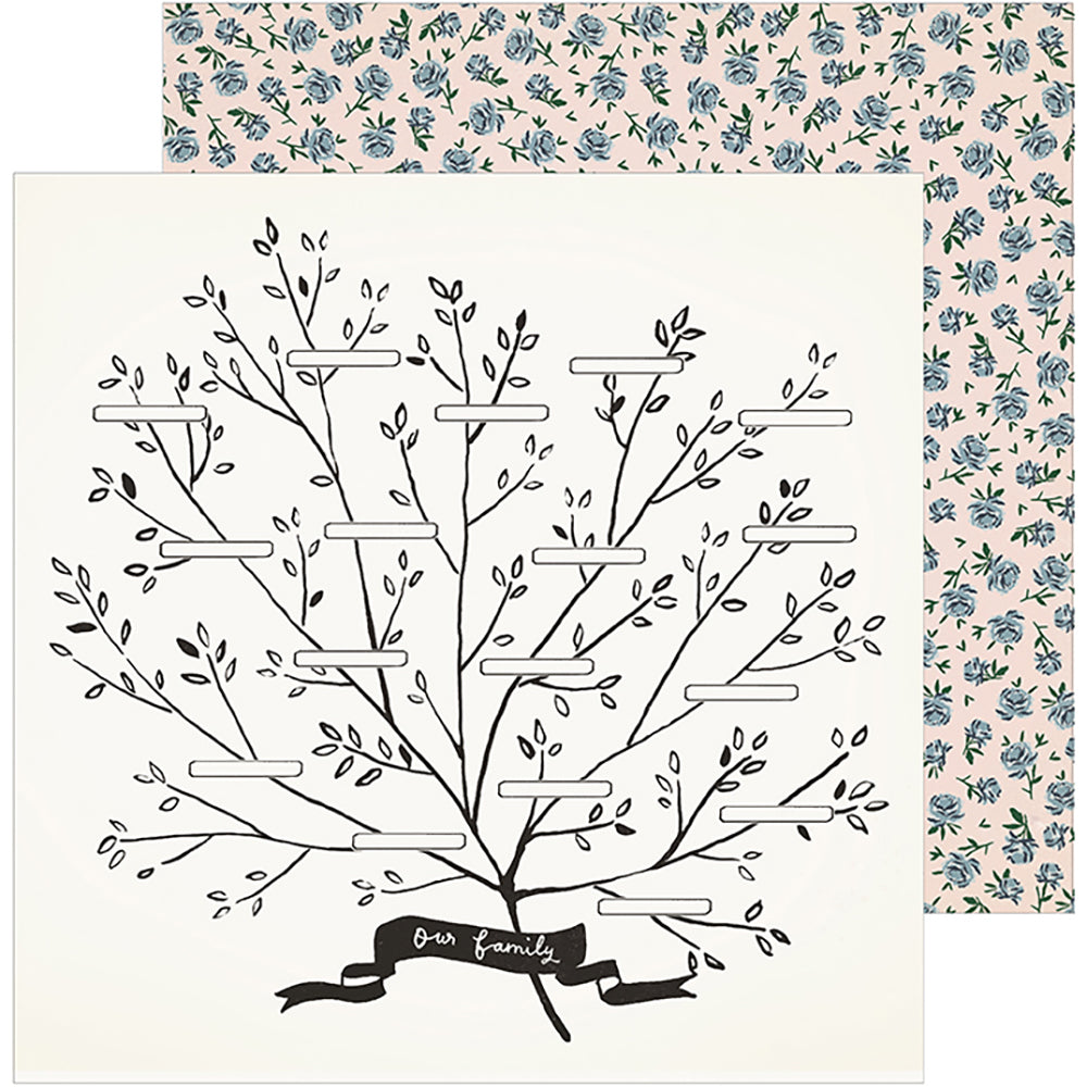 Maggie Holmes Heritage Family Tree 12x12 Paper