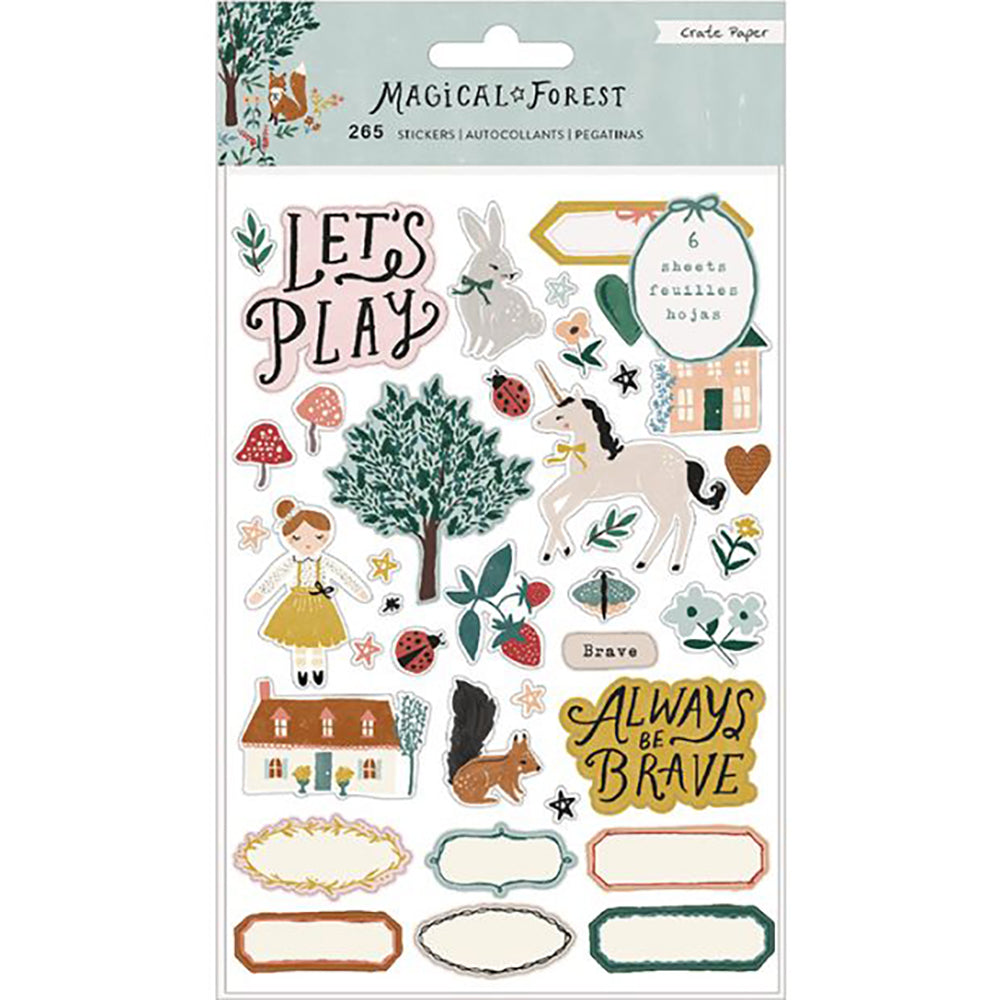 Magical Forest Sticker Book