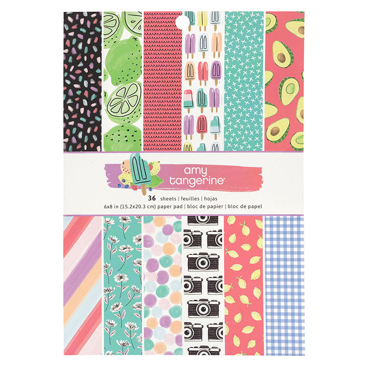 6x8 Designer Paper Pad: Stay Sweet