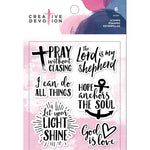 Creative Devotion Clear Stamps Set: God is Love