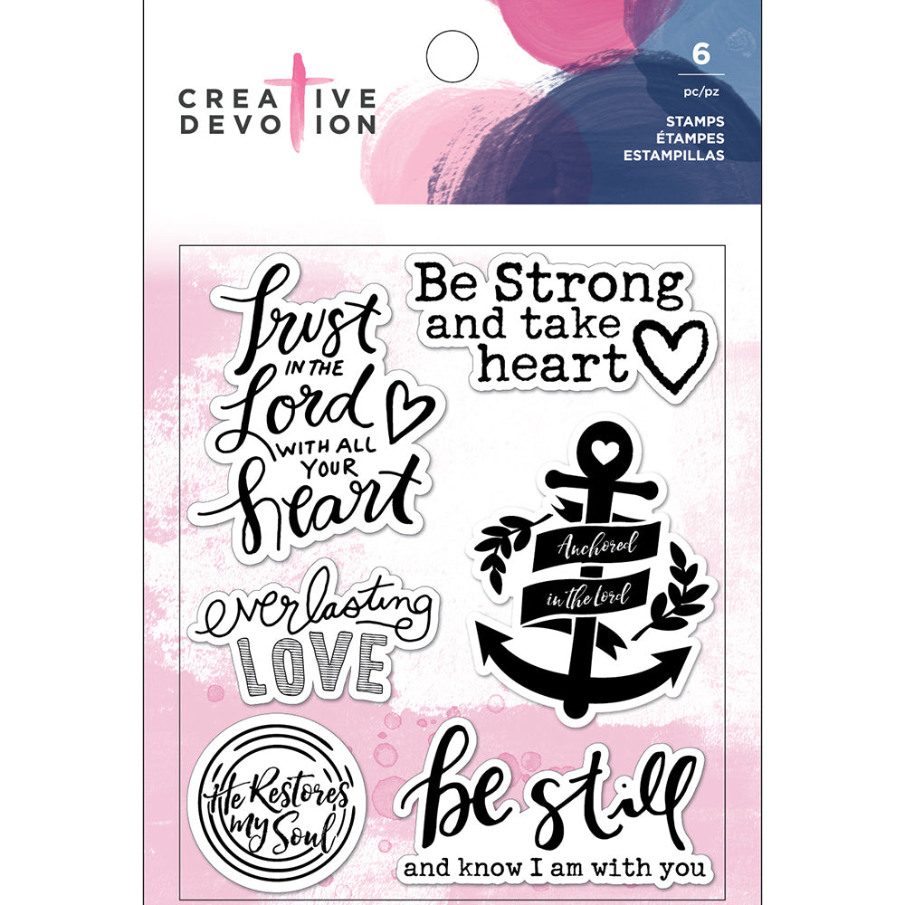 Creative Devotion Clear Stamps Set: Thankful