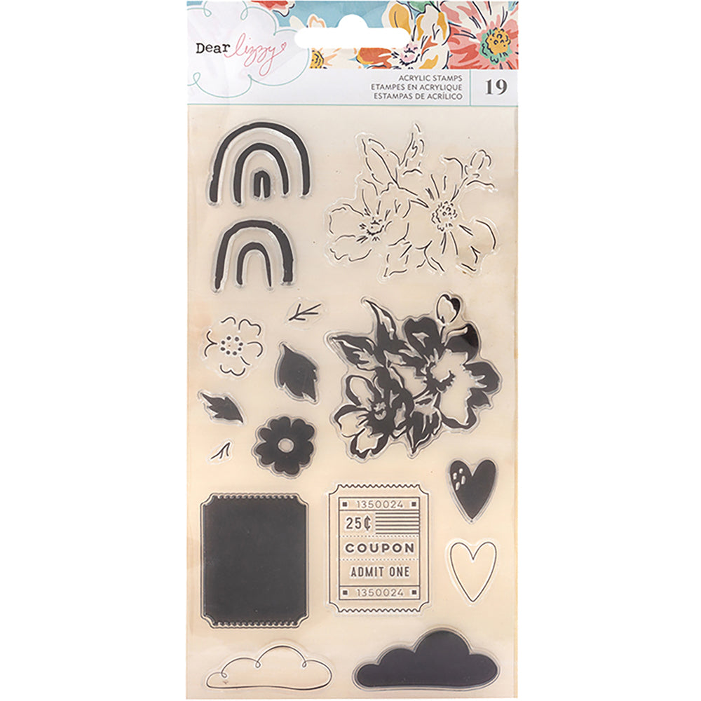 Dear Lizzy She's Magic Clear Stamps