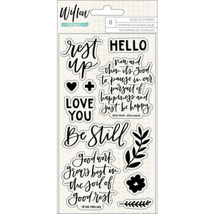 Willow Clear Stamps