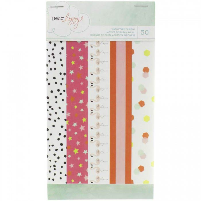 Washi Tape Book: Dear Lizzy (Fine and Dandy)