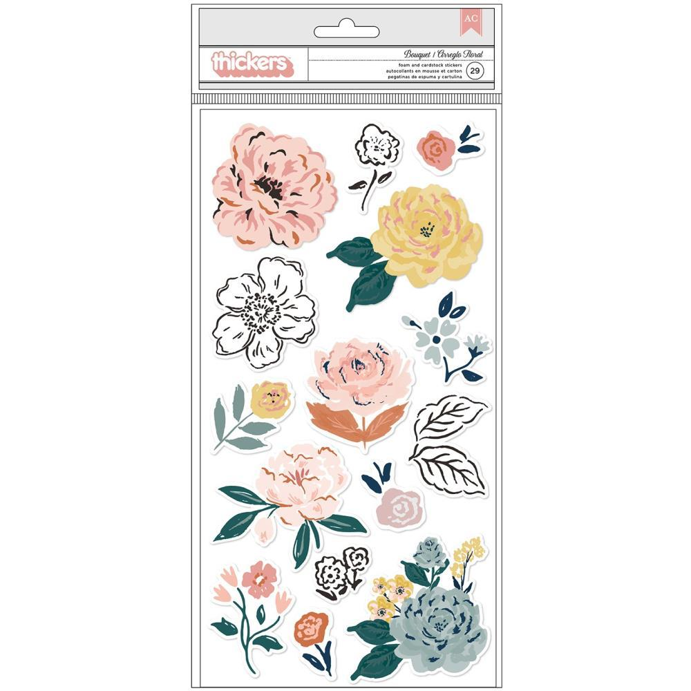 Thickers Stickers: Fresh Bouquet