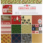 12x12 Paper Pad: Christmas Lodge