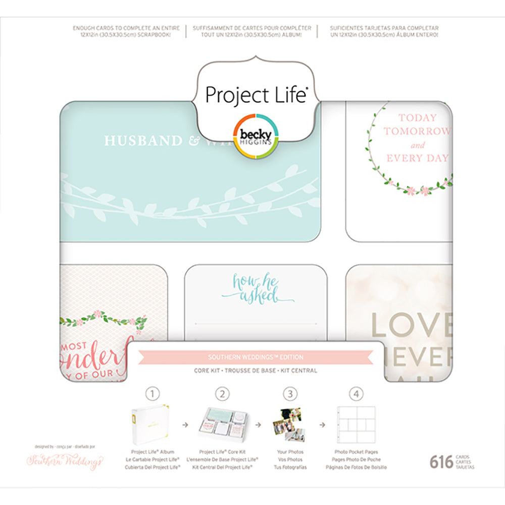 Project Life Core Kit: Southern Weddings