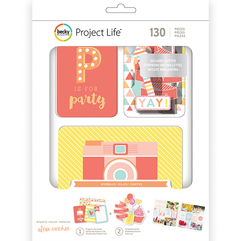 Project Life Value Kit: Sprinkles