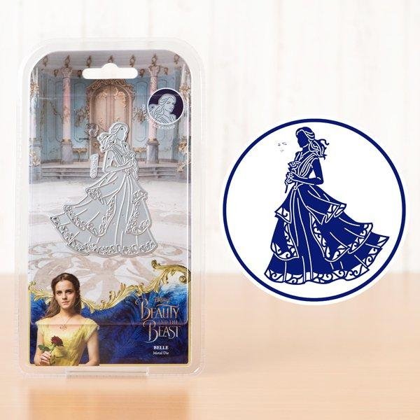 Die & Face Stamp Set: Beauty & The Beast (Belle)