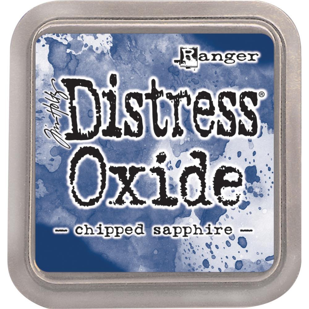 Tim Holtz Distress® Oxide Ink Pad: Chipped Sapphire