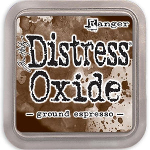Tim Holtz Distress® Oxide Ink Pad: Ground Espresso