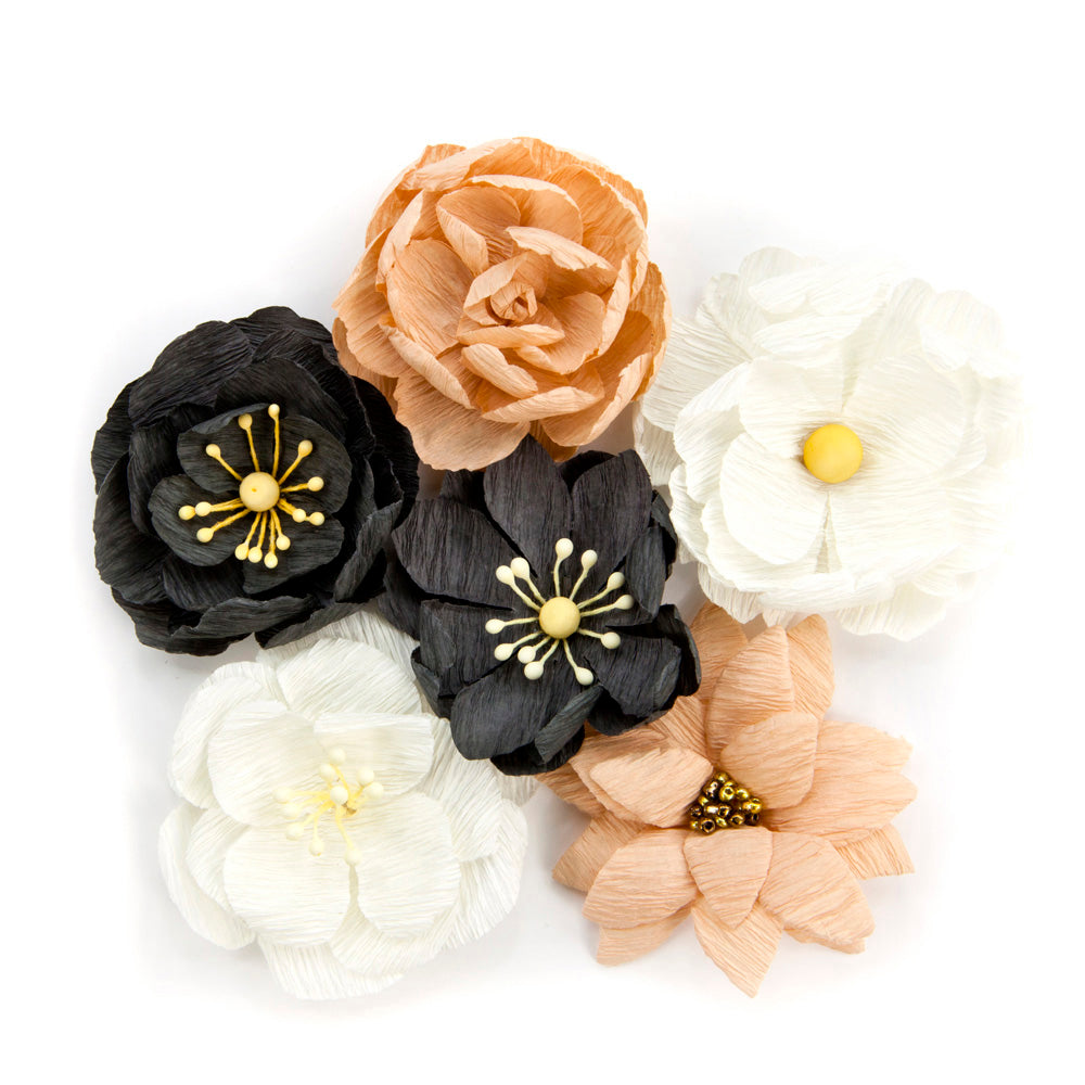 Amelia Rose Collected Mulberry Paper Flowers