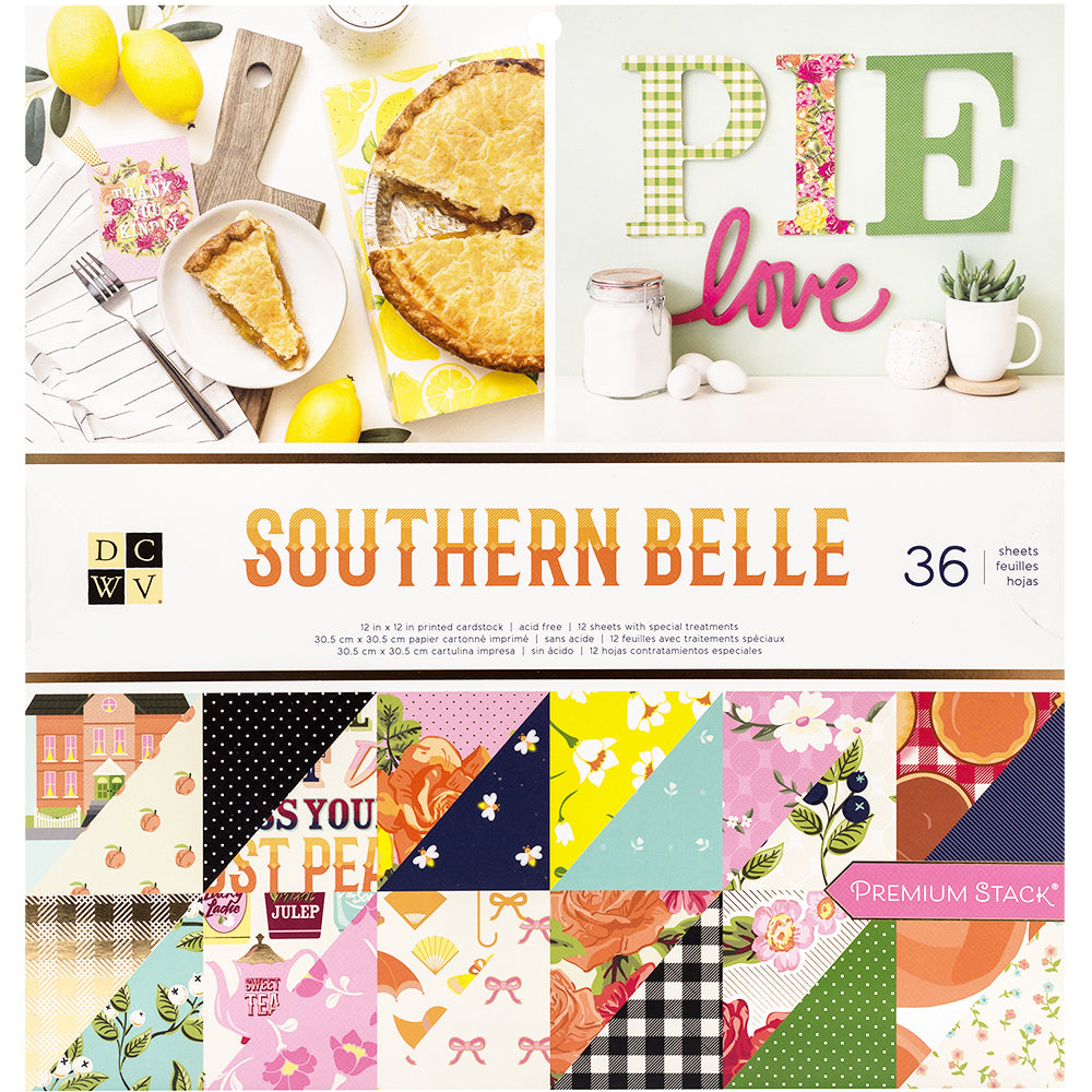 Southern Belle 12x12 Paper Pad