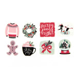 Decorative Tape Stickers: Winter