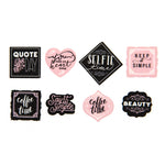 Decorative Tape Stickers: Quotes