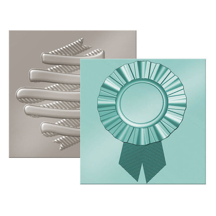 Next Level Embossing Folders (2PK): Ribbon & Banner