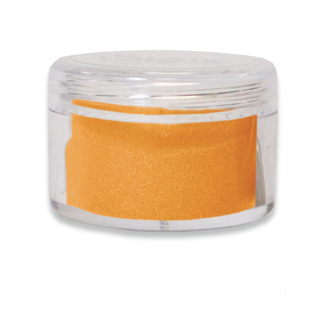 Embossing Powder: Opaque Mango Tango