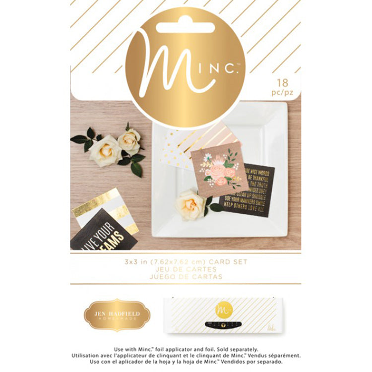 Minc 3x3 Card Set: DIY Home
