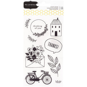 Jen Hadfield This is Family Clear Stamps