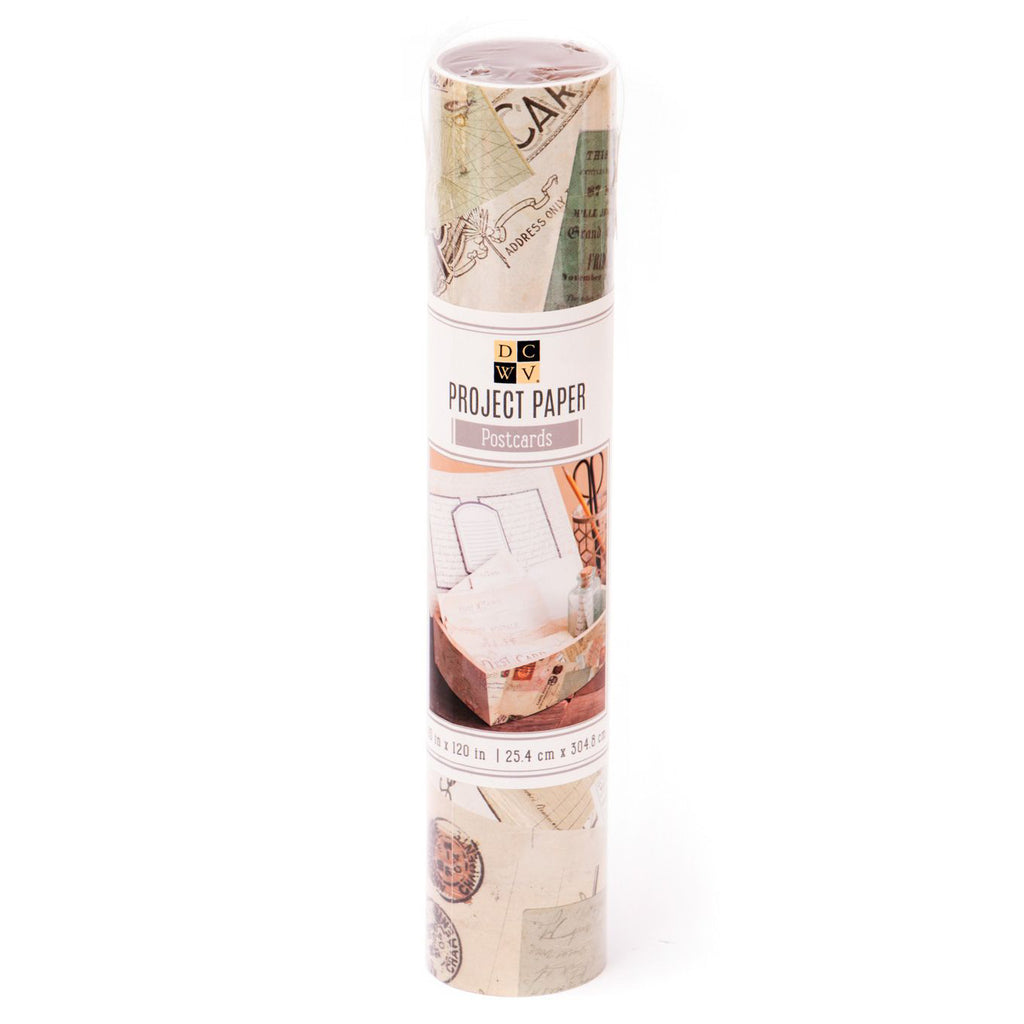 Postcards Paper Roll (10x120)