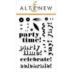 Party Time 4x6 Clear Stamps