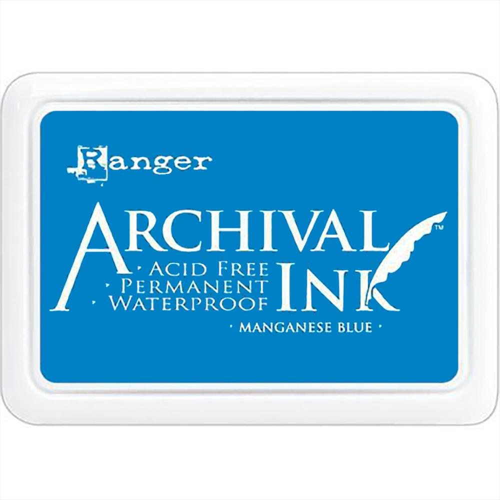 Archival Ink Pad: Manganese Blue