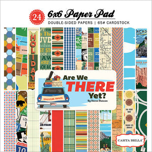 Are We There Yet? 6x6 Paper Pad