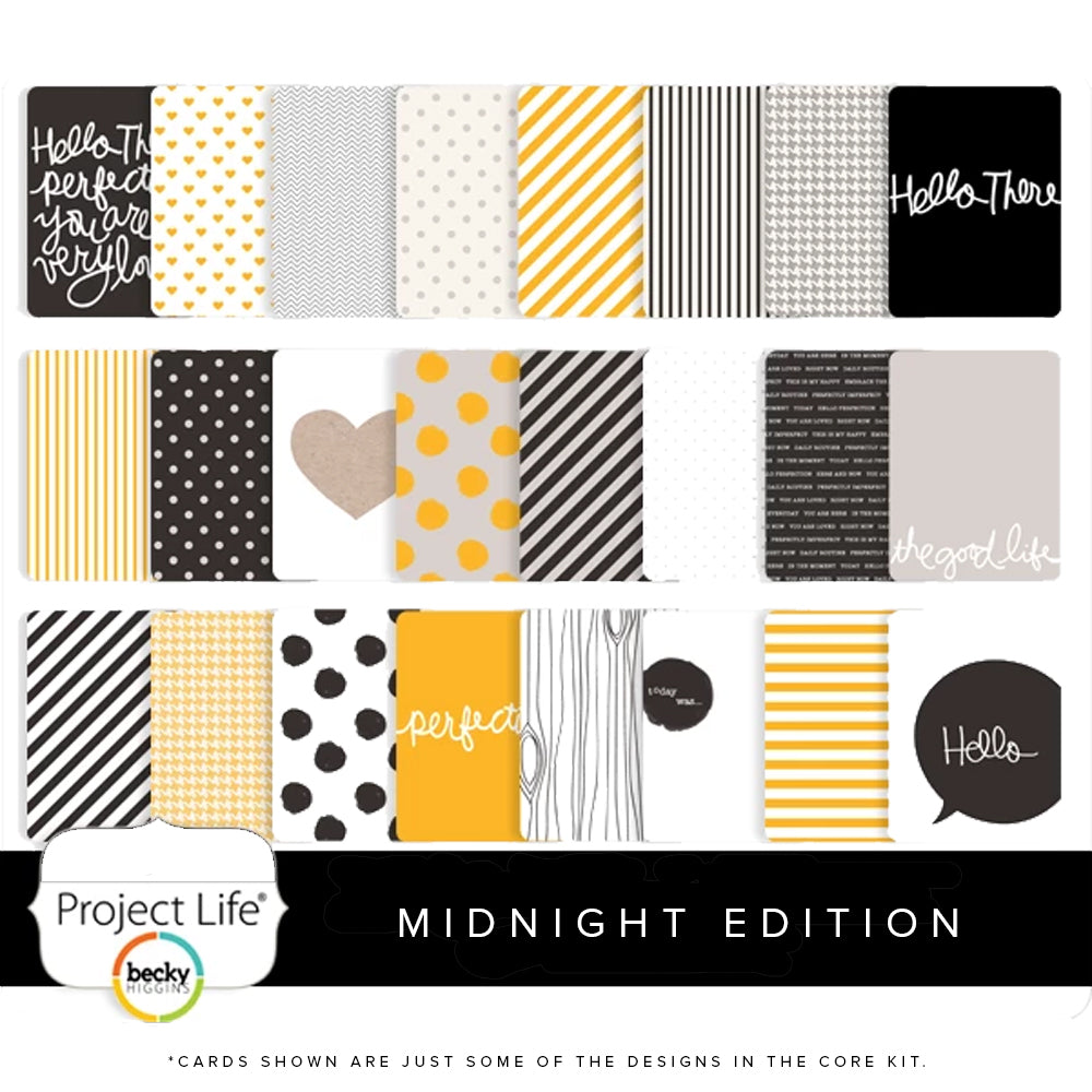 Project Life Liz Tamanaha Midnight Core Kit