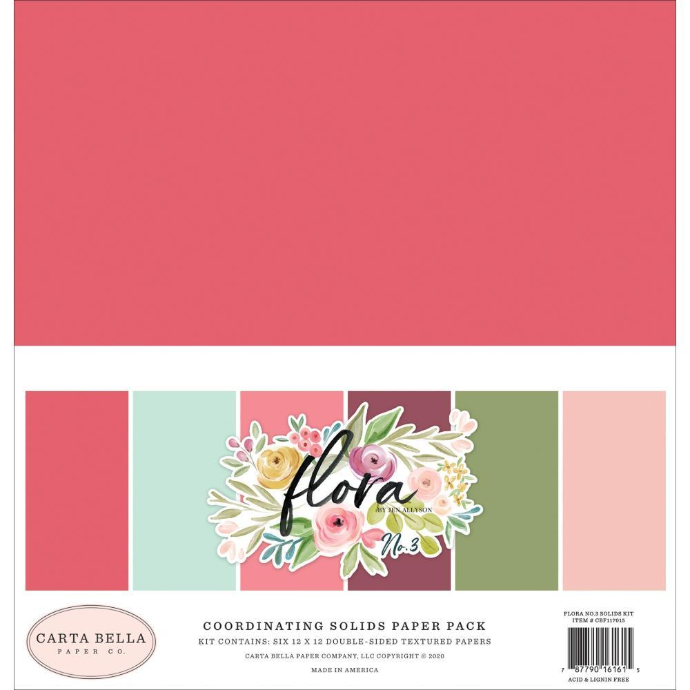 12x12 Solids Kit: Flora No. 3