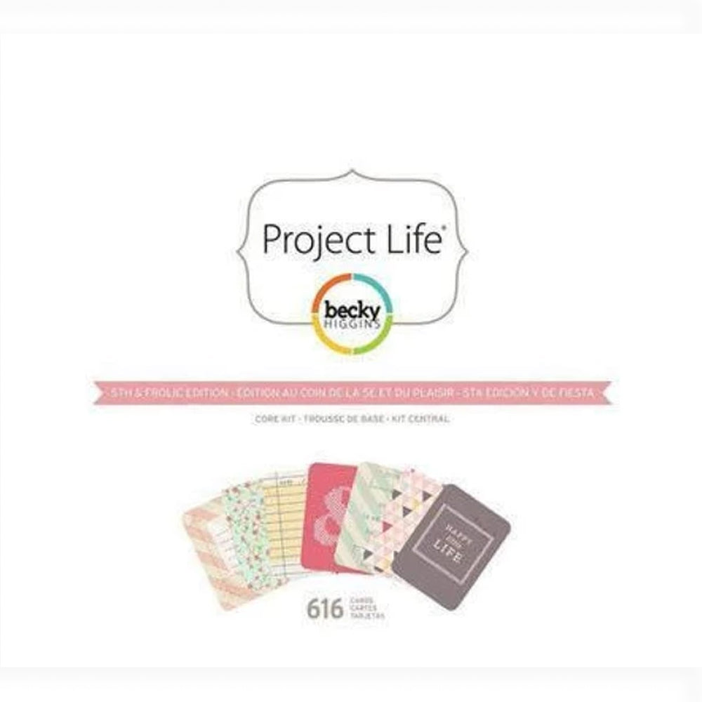 Project Life Core Kit: 5th & Frolic