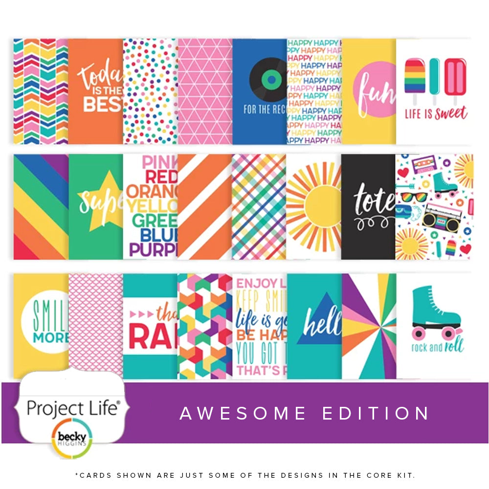 Project Life Core Kit: Awesome Edition