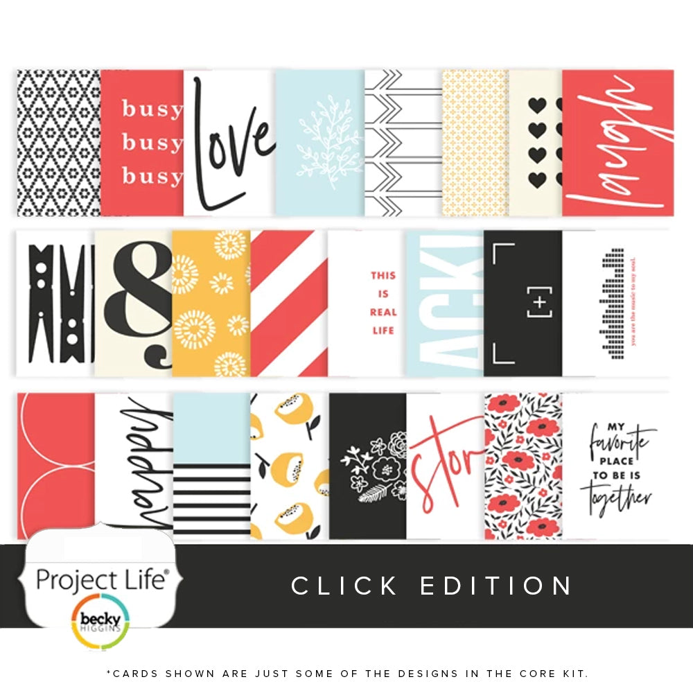 Project Life Core Kit: Click Edition