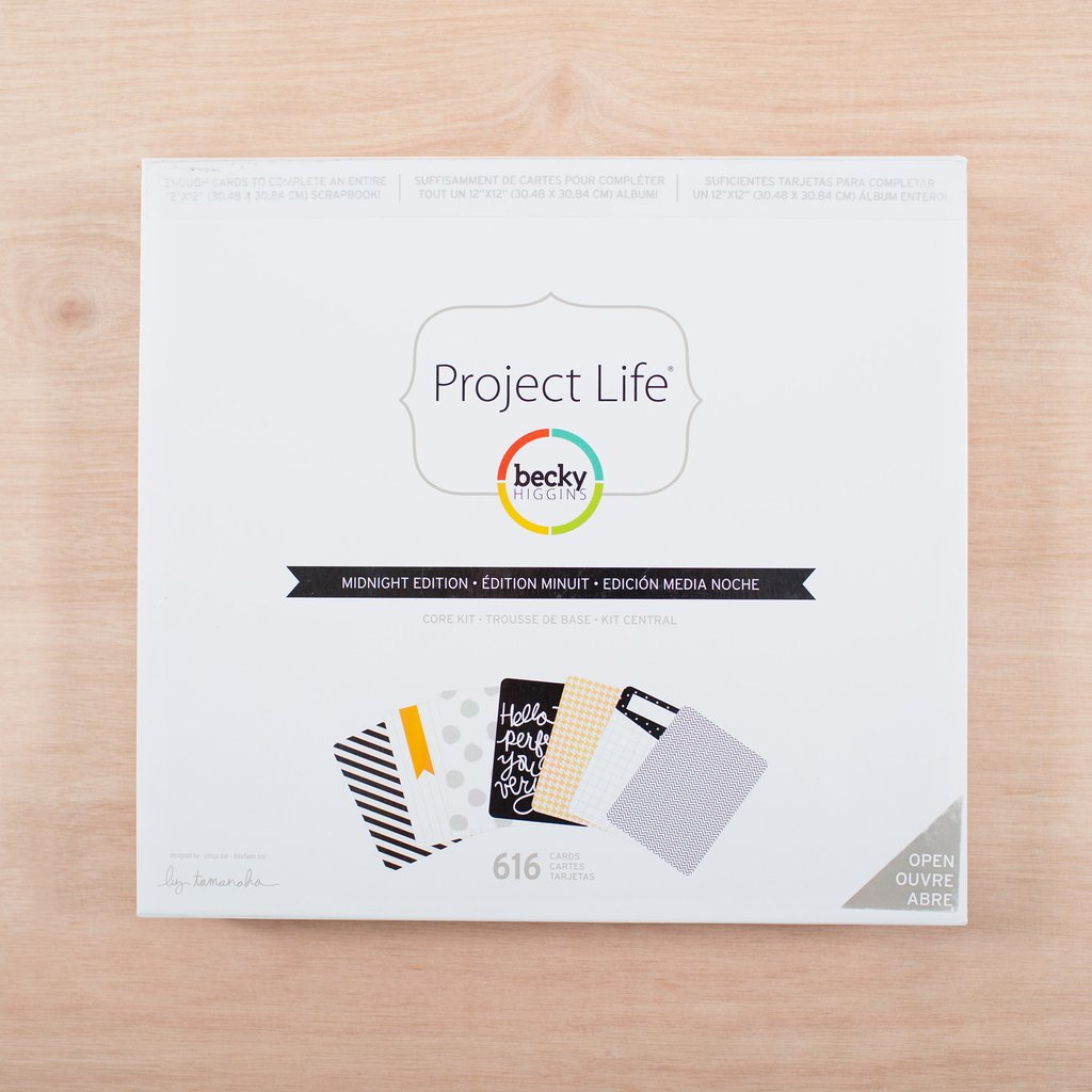 Project Life Core Kit: Midnight Edition