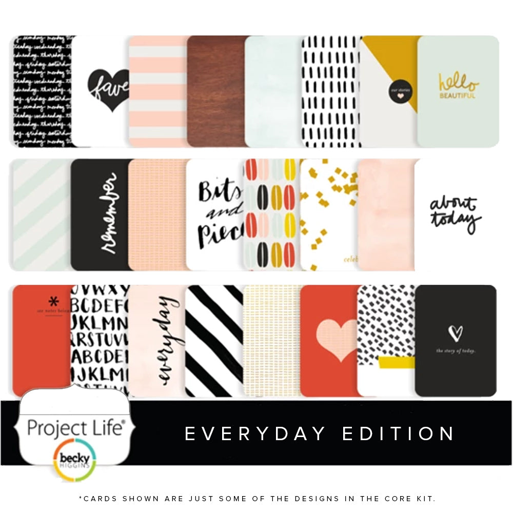 Project Life Core Kit: Everyday Edition by Liz Tamanaha